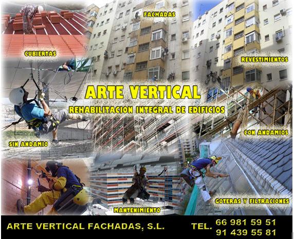 Imagenes ARTE VERTICAL FACHADAS