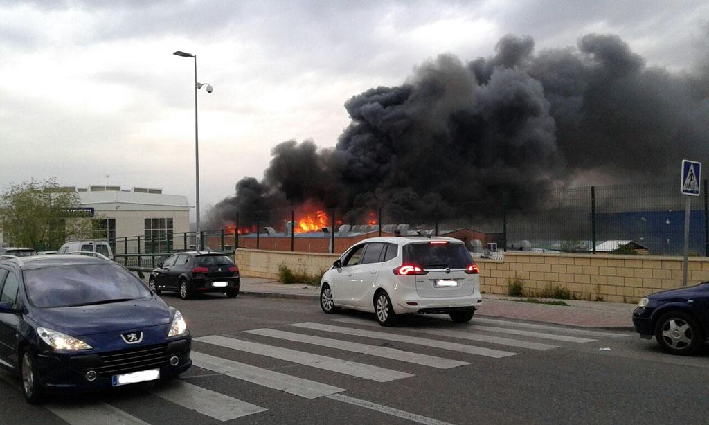 Incendio en concesionario ford jota - Temperatura rivas vaciamadrid ...