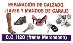 Imagenes REPARACION DE CALZADO, LLAVES Y MANDOS DE GARAJE